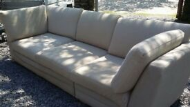 Top quality Multiyork large Sofa Removable washable covers on very part. Neutral modern Colour