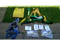 Lecsafe harnes with accessories and another pair of harness! Can deliver or post