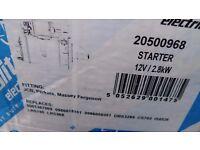 Perkins Diesel Starter motor 12 volt JCB Massey MF industrial Generator plant engine Brand New