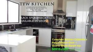Complete Kitchen Cabinets + Polyurethane Door + Stone Benchtop Clayton Monash Area Preview
