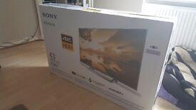 Sony Bravia UHD 43inch 4K TV