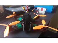 Racing Drone Lumenier QAV210 + Emax Motors + VTX + Spare Parts