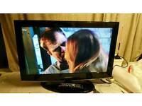 """32 """" Samsung LCD tv HD ready with build in freeview."""