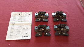 Thule Roof-bar Adaptor Kit 3017 (For Peugeot and Citroen Cars)
