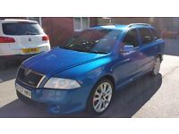SKODA OCTAVIA VRS TDI ESTATE 57 PLATE 6 SPEED MANUAL GEARBOX SERVICE HISTORY LOW MILEAGE
