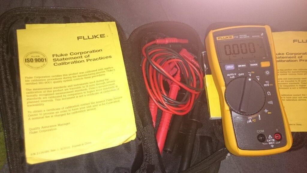 Fluke 116 True rms multi meter | in Clifton, Nottinghamshire | Gumtree