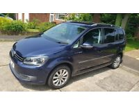 VW TOURAN 2.0 TDI 140bhp Great Spec