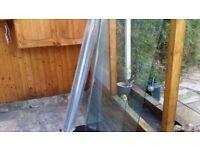 shower enclosure-panels (slider doors) 1700mmx1850