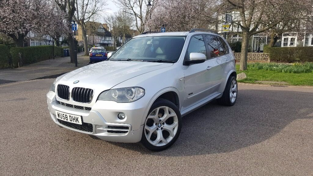 2008 bmw x5 3 0d ac 5s auto silver in borehamwood hertfordshire gumtree. Black Bedroom Furniture Sets. Home Design Ideas