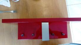 Ikea wall coat rail