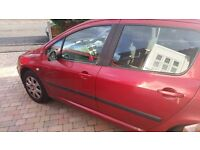 Peugeot 307 hdi 1.4. £30 tax.MOT April 17. £395