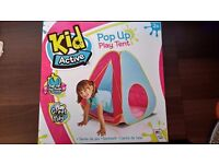 KIDS POP UP PLAY TENT NEW IN BOX