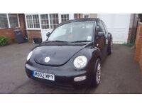 2002 Beetle in Black
