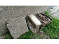 Free breeze blocks and paving slabs