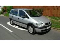 Vauxhall zafira 1.8 7 seater full mot one owner drives great