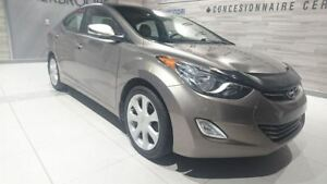 2012 Hyundai Elantra LIMITED + CUIR BEIGE + TOIT OUVRANT + MAGS