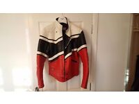 "Classic Scott Leathers Motorcycle Jacket (made in England) 42"" chest"