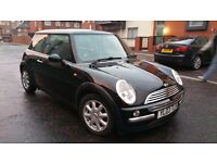 Mini Hatch Cooper 2003 1.6 black