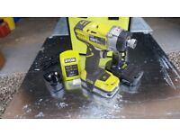 Ryobi 18Volt 220nm High power cordless impact driver perfect for screwing & loosening larger bolts