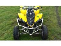 Yamaha raptor racer quad