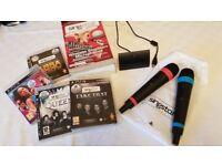 Singstar PS3 Games & Two Wireless Microphones bundle
