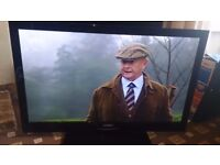 BUSH 40 LED COMBI DVD TV FREEVIEW HD/SLIM DESIGN/FULL HD 1080P/ EXCELLENT CONDITION NO OFFERS
