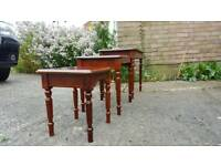 Set of Three Coffee Tables