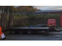 2004 Andover tri-axle trailer. Commercial spec.