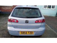 Seat Ibiza 1.2 , 2005, 54.700 miles,New MOT, ladies owners