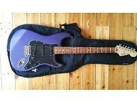 Fender Stratocaster FSR Mexican MIM Rare colour Satin Purple/Blue **Mint Condition**