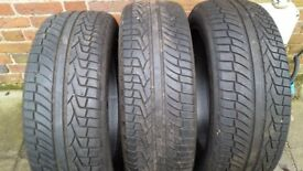 """3 x 19"""" Tyres. Excellent condition"""