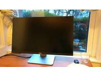 Dell UltraSharp U2515H 25-Inch LED Monitor. With DisolayPort cable.