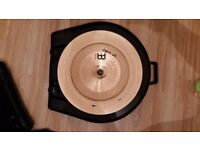 Full cymbal set with wheel case and other effects - BARGAIN!