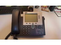 FURTHER REDUCED: Bundle of 4 fully working office telephones Cisco/ BT