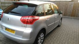 Citroen C4 Picasso 07 Reg with low millage and 12 months MOT