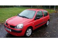 Renault Clio Authentique 05, **MOT may 2018* 45,000 Genuine Low Miles