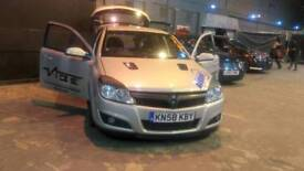 Vauxhall astra design 1.9 cdti moddified