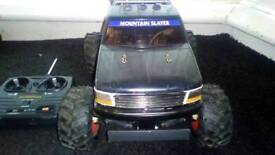 Vintage Tamiya King Blackfoot RC Monster Truck. Excellent Condition. RTR