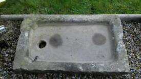 Old original stone sink