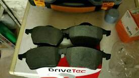 Seat leon 1.8t brake pads and oil filter