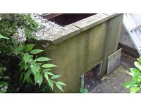 FREE MARLEY COAL BUNKER CONCRETE VERY HEAVY SECTIONS
