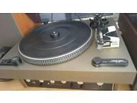 Turntable + amplifier vintage