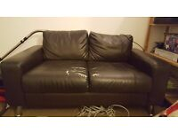 Free 2 seater sofa - needs collecting by Saturday.