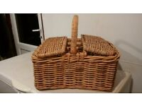 large Harrods picnic basket
