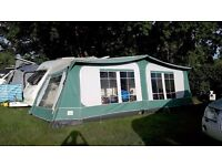 Size 16/1025 - 1050cm Pyramid 'Tuscany' caravan awning in green