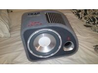 Fli Trap 12' 1200W Sub & Amp enclosure by Vibe