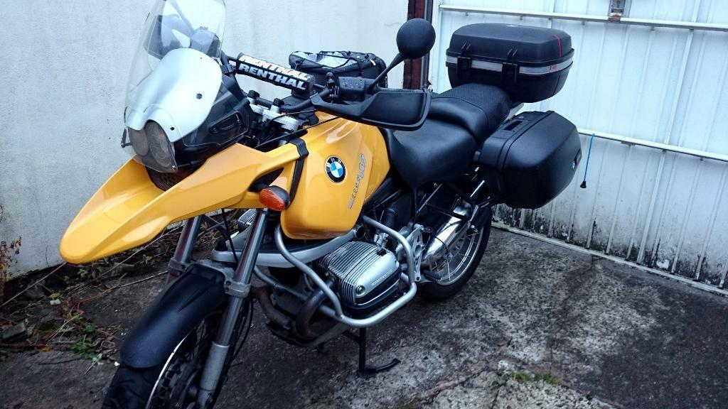 bmw r1150gs 1150 gs 2000 adventure tourer yellow top. Black Bedroom Furniture Sets. Home Design Ideas