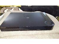 Samsung 3d blu ray player with harddrive 500 gig