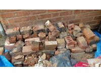 Reclaimed Victorian Bricks free to anyone who will collect. Must take all.