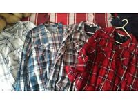 Womens checked shirts